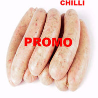 Chilli Pork Sausages - 470g+