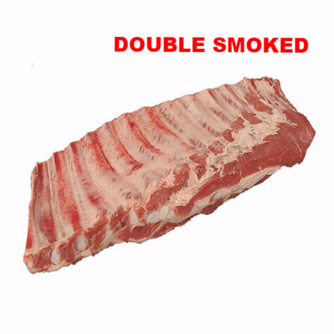 Rack of Pork Ribs Double Smoked - 350g