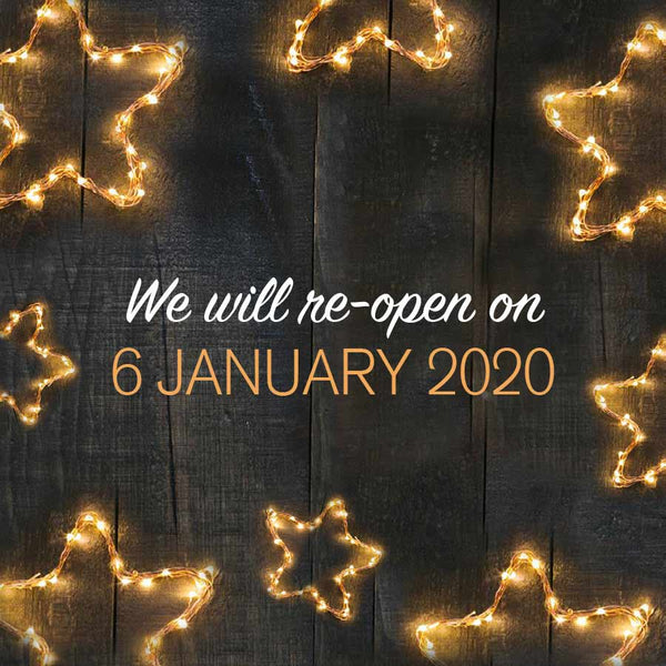Bookshell Bindery is now closed and we will re-open on 6 January 2020