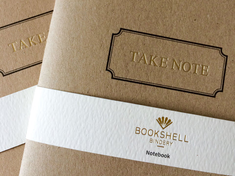A5 Notebook – Take Note