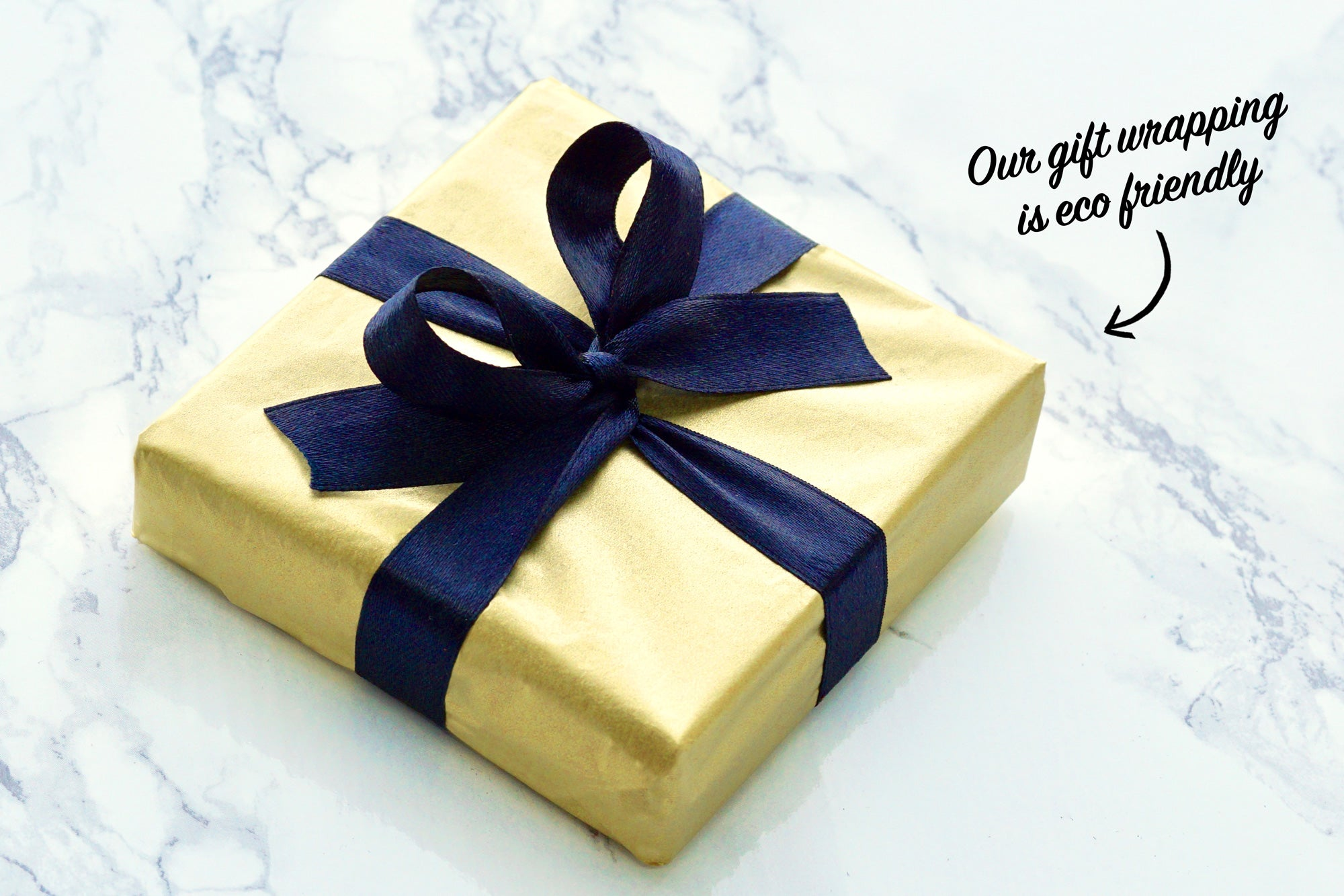 Our gift wrapping is eco friendly too