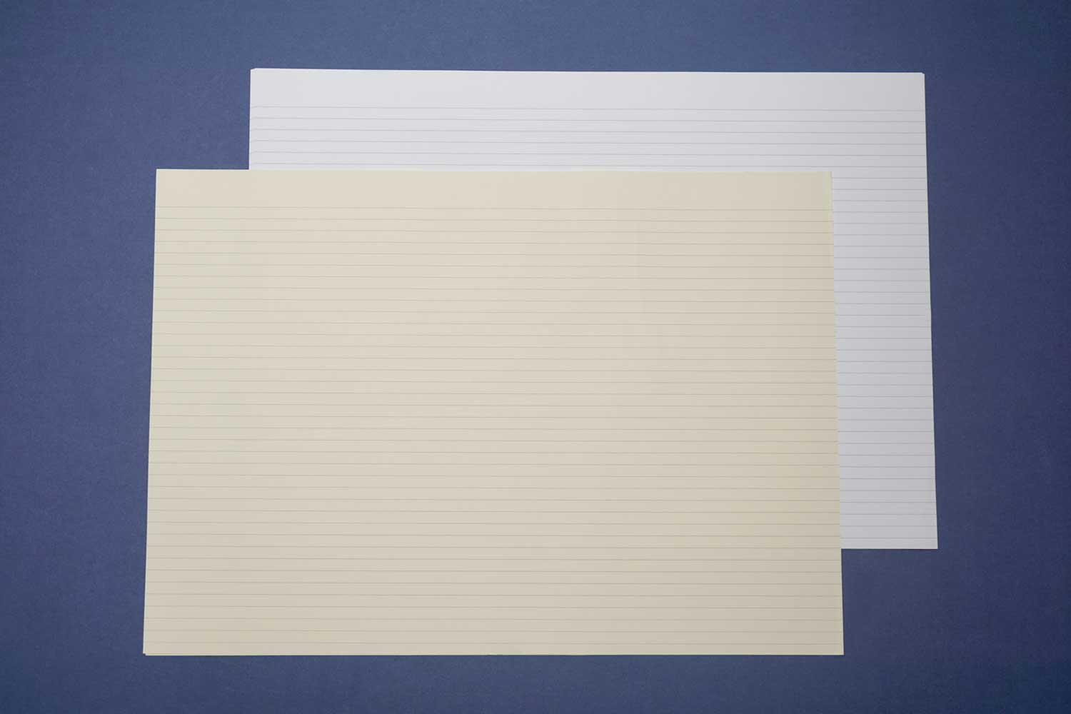 Horizontal Lined Paper for Bookbinding