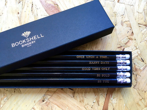 Inspirational Pencil Pack by Bookshell Bindery