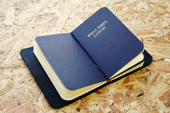 Never-ending journal, this photo shows one of the inner notebook with the title What times lunch?