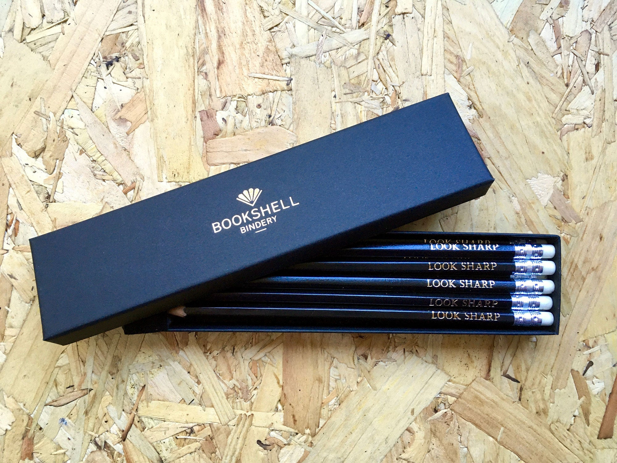 Engraved Pencils Set – Look Sharp