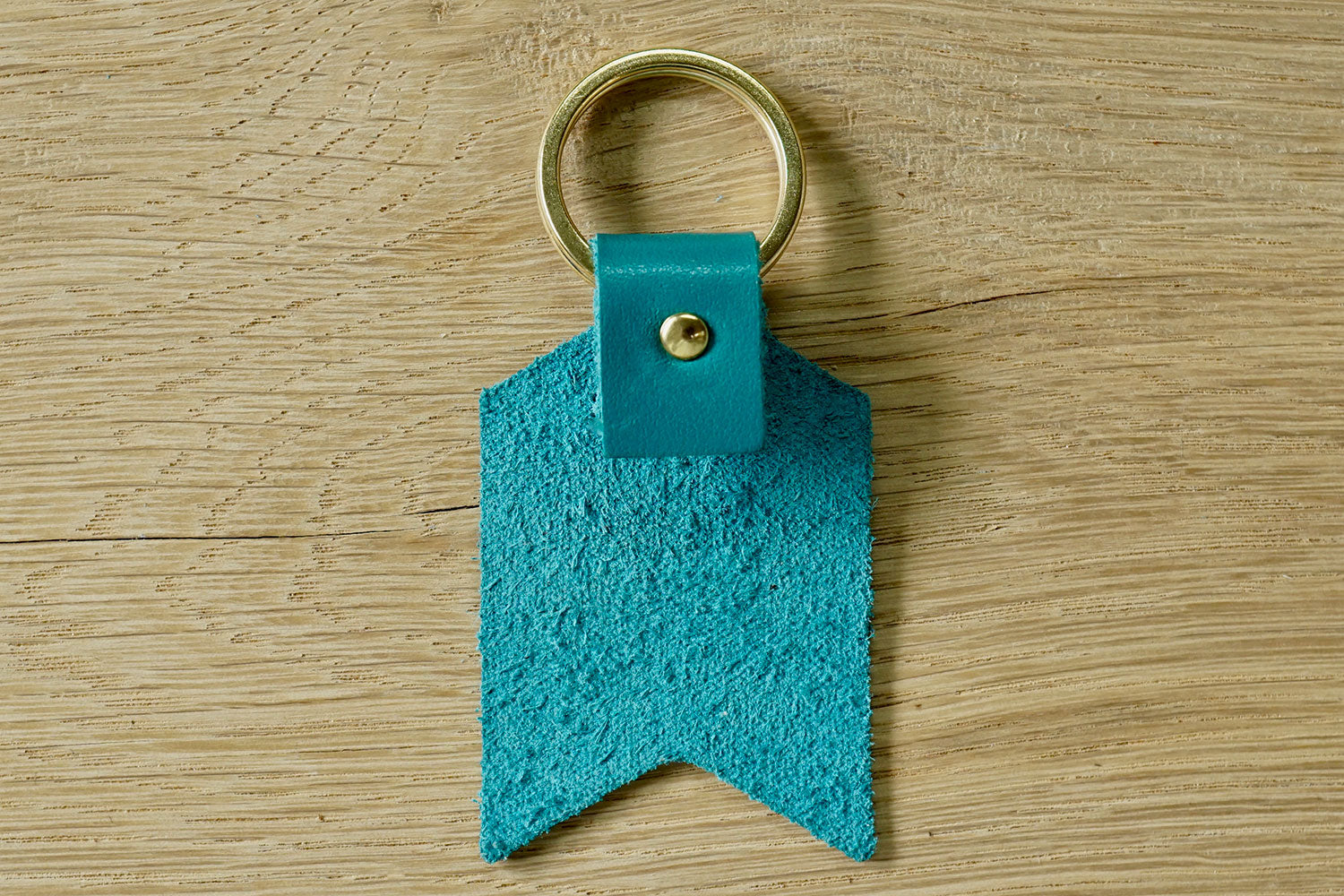 Mum keychain from Bookshell Bindery detail of back