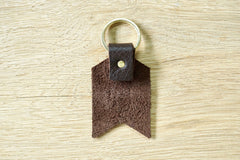 Personalised Daddy keyring from Bookshell Bindery detail of the back of the keyring