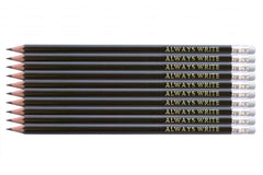 Ten personalised pencils gift pack