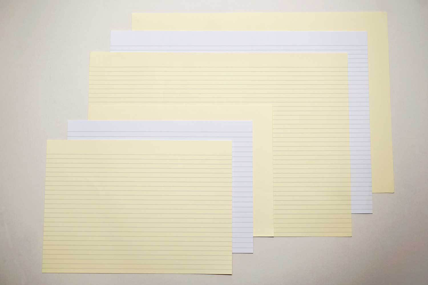 Short Grain Landscape Lined Paper from Bookshell Bindery