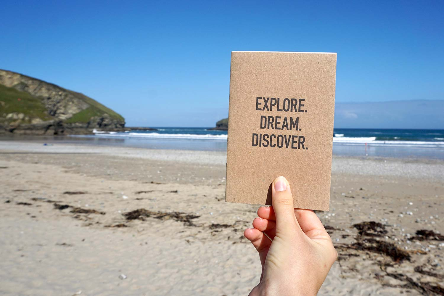 Travellers notebook, Explore. Dream. Discover, from Bookshell