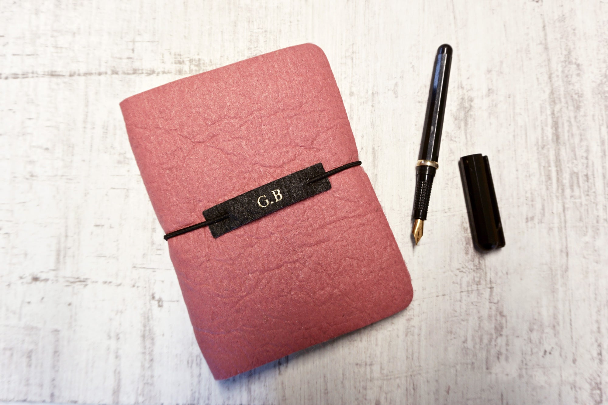Vegan Leather Journal – Pink