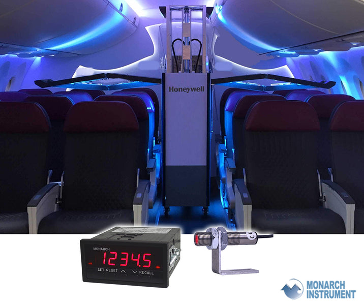 Monarch Instrument provides critical speed measurement for Honeywell UV Cabin System