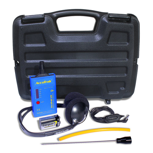 VPE Ultrasonic Leak Detector Kit Case Closed with Tool and Accessories Shown - Monarch Instrument