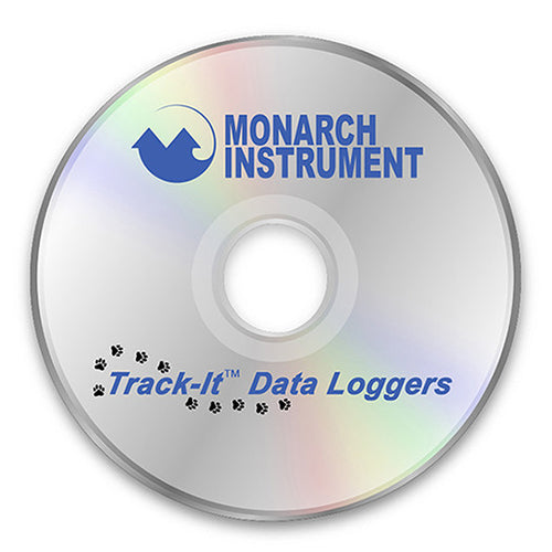 Track-It Software on CD - Monarch Instrument