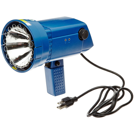 Nova-Strobe DAX Digital  Portable AC Powered Stroboscope shown with North American AC Cord