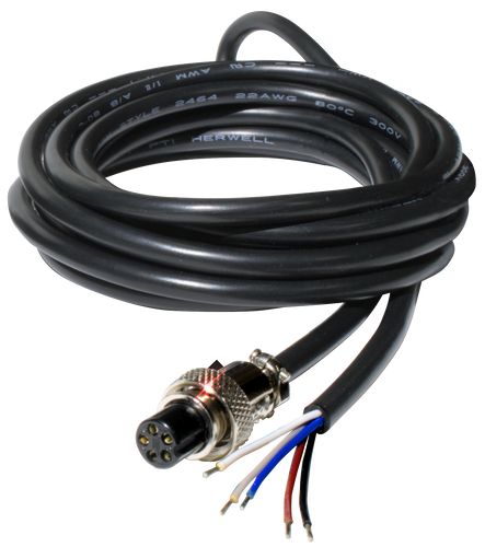 5 pin Input Cable for illumiNova fixed mount stroboscope