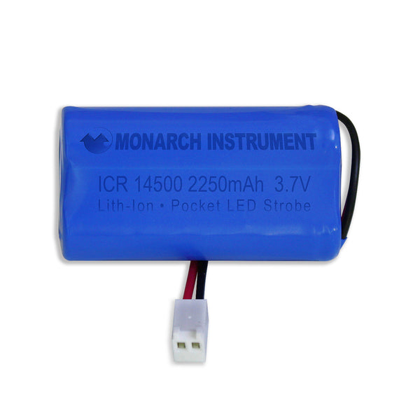 Replacement Lithium Ion Battery Pack for Monarch Pocket LED Strobe PLS - Monarch Instrument