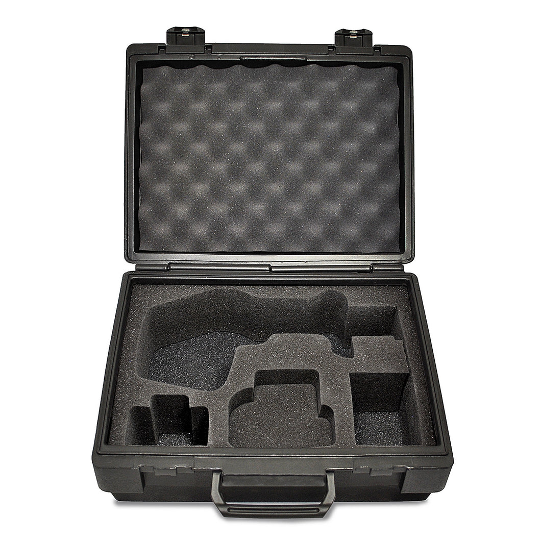 Standard Nova-Pro Die Cut Foam Case Open and Empty - Monarch Instrument