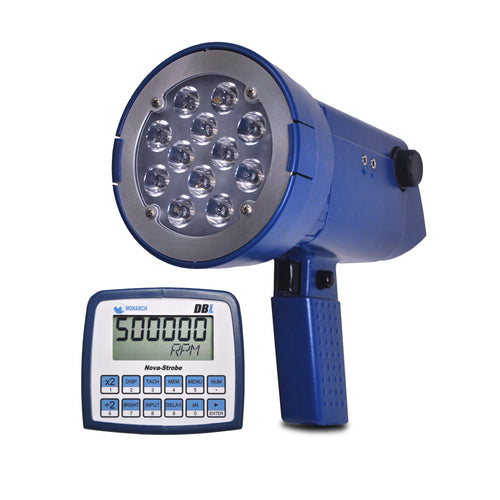 Nova-Strobe DBL LED Portable Stroboscope with Display and Keypad view