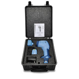 Nova-Pro™ 500 LED Stroboscopes/Tachometers Deluxe Kit Case Open with Contents