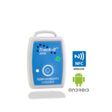 Track-It™  RFID Temp/Humidity Data Logger with NFC and Android logos - Monarch Instrument