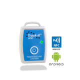 Track-It™  RFID Temp Data Logger with NFC and Android Logos - Monarch Instrument