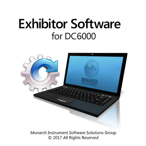 Exhibitor Software for DC6000 - Monarch Instrument