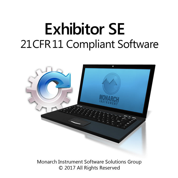 Exhibitor SE 21CFR11 Compliant Software V1.1.0