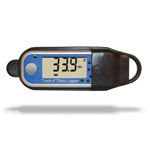 Track-It™ Temperature Data Logger with Display and protective rubber cover - Monarch Instrument