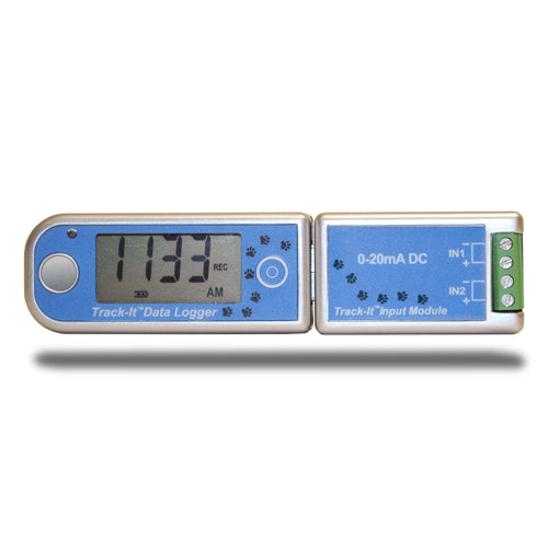 Track-It™ DC Voltage & Current Data Logger with Long Life Battery