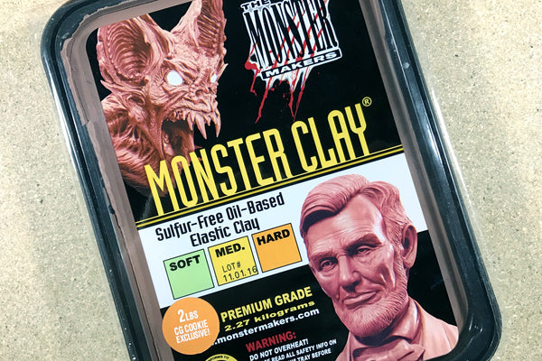 Monster Clay - Sculpting