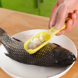 Durable Plastic Fish Scale Remover