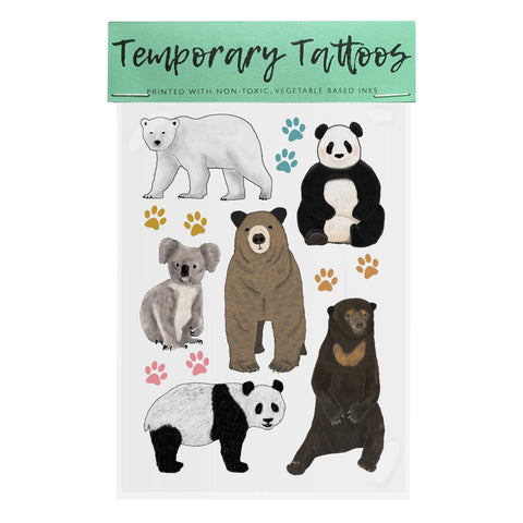 Bears - Temporary Tattoos