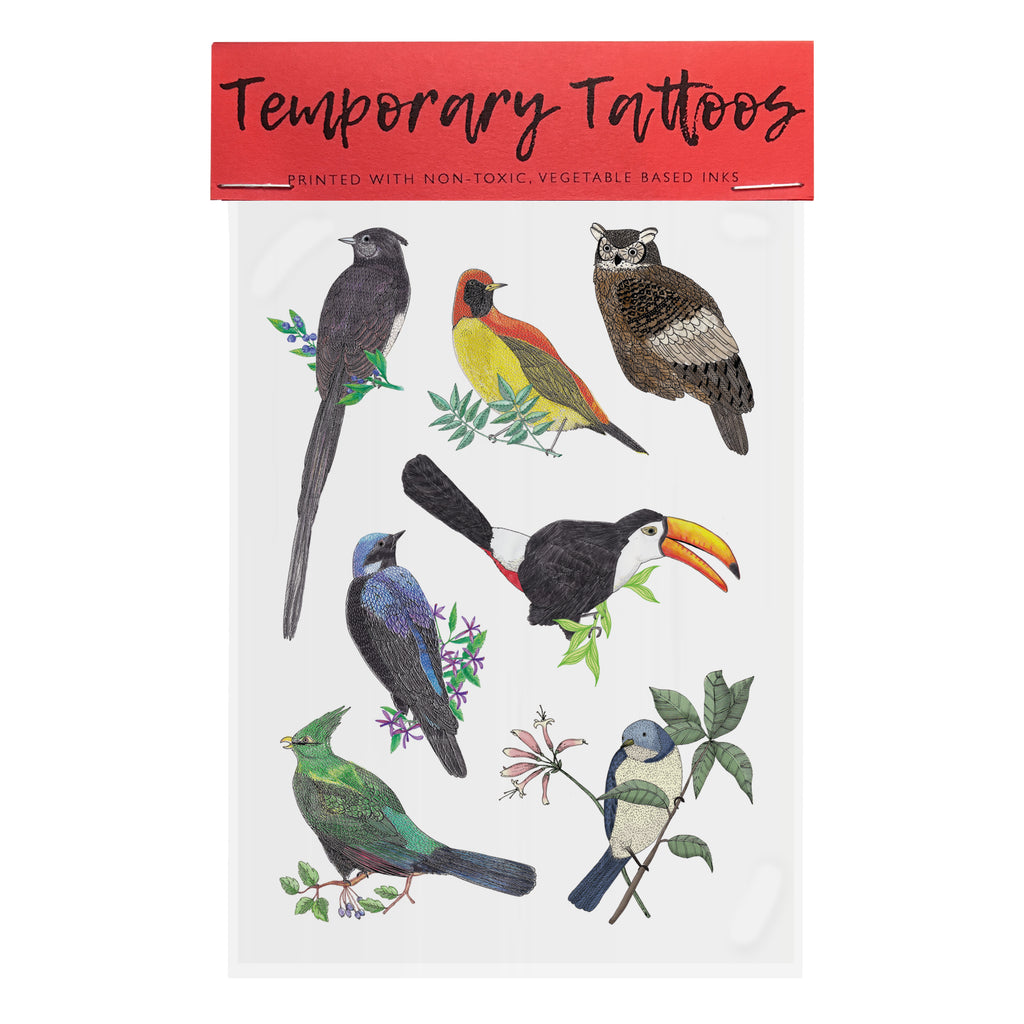 Bird Temporary Tattoos