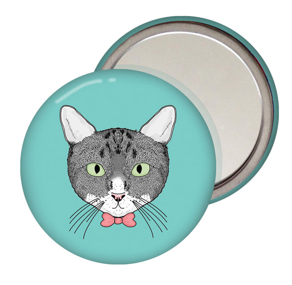 Cat Pocket Mirror
