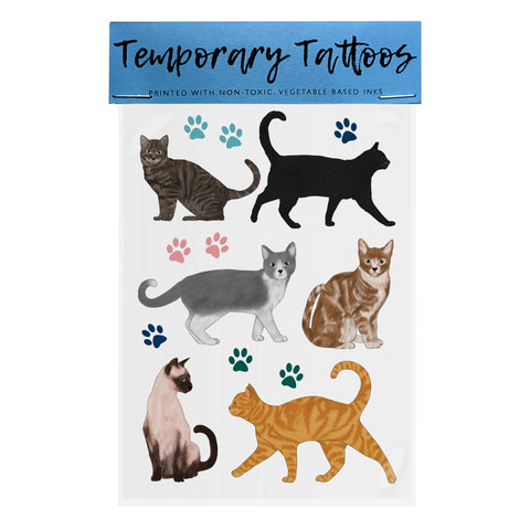 Cats - Temporary Tattoos