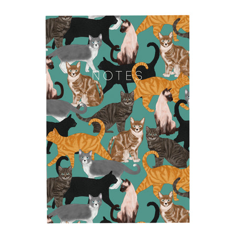 Cats - A5 Notebook