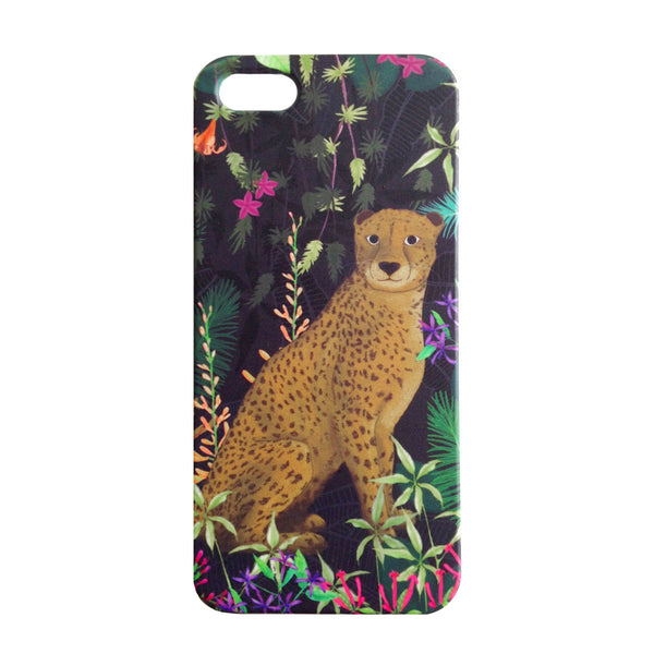 iPhone 5/SE Case - Jungle Cheetah