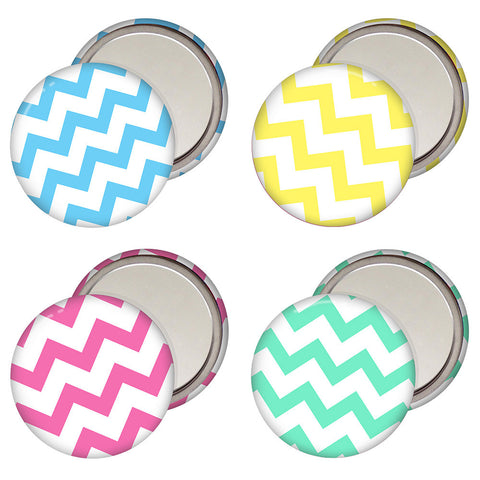Chevron Pocket Mirror