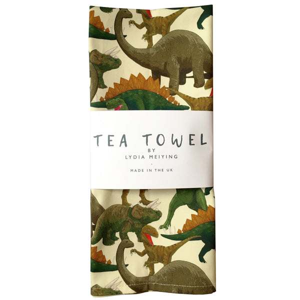 Dinosaurs - Tea Towel