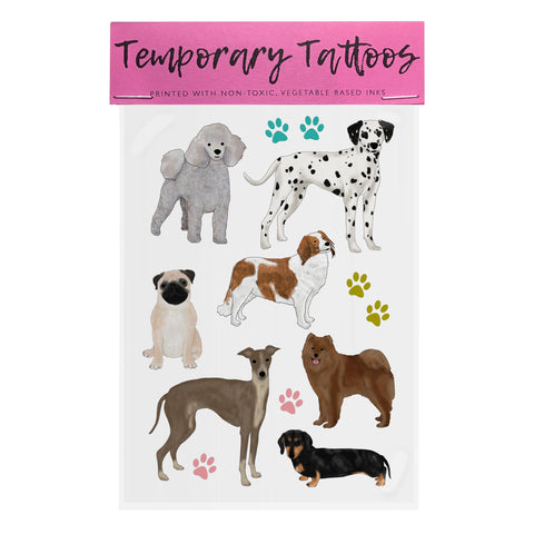 Dogs - Temporary Tattoos