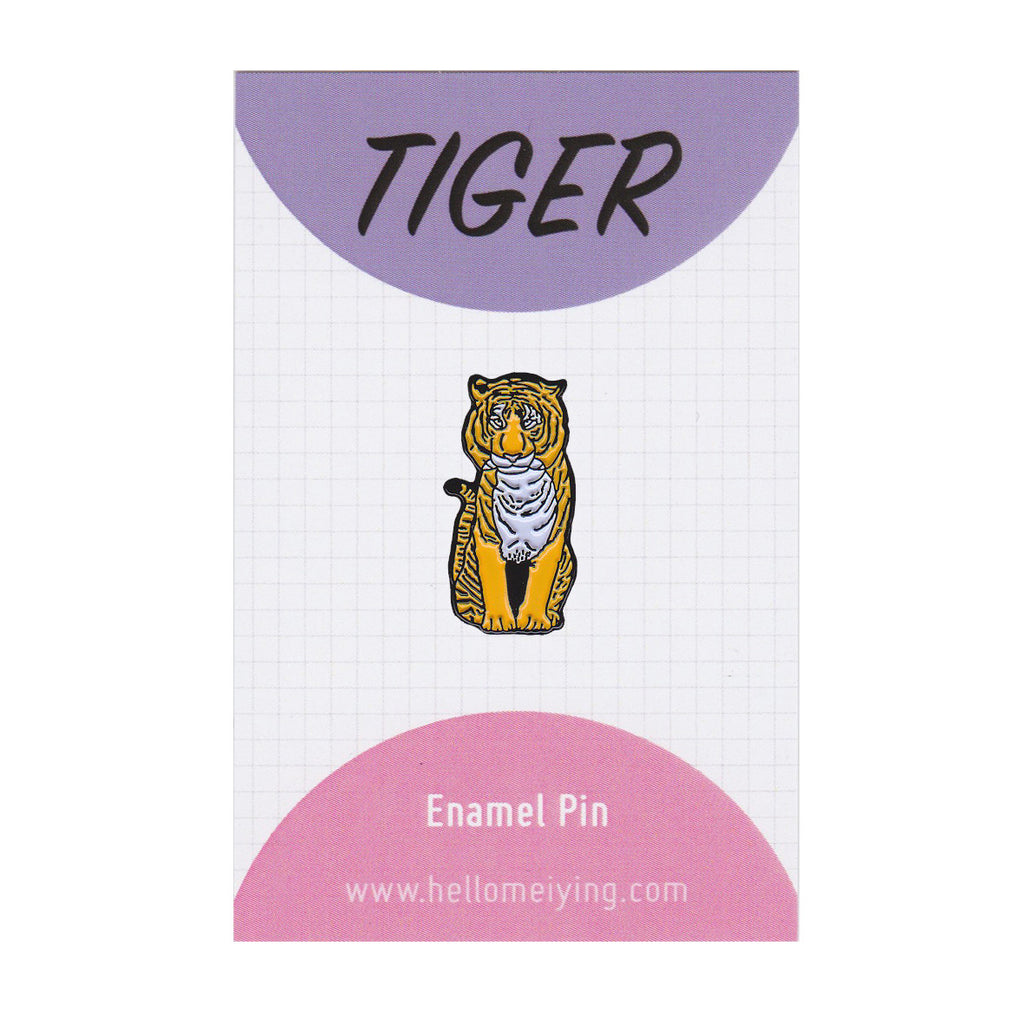 Tiger - Enamel Pin