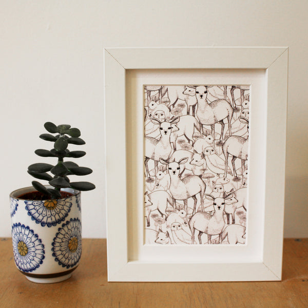 Woodland • Framed Mini Print