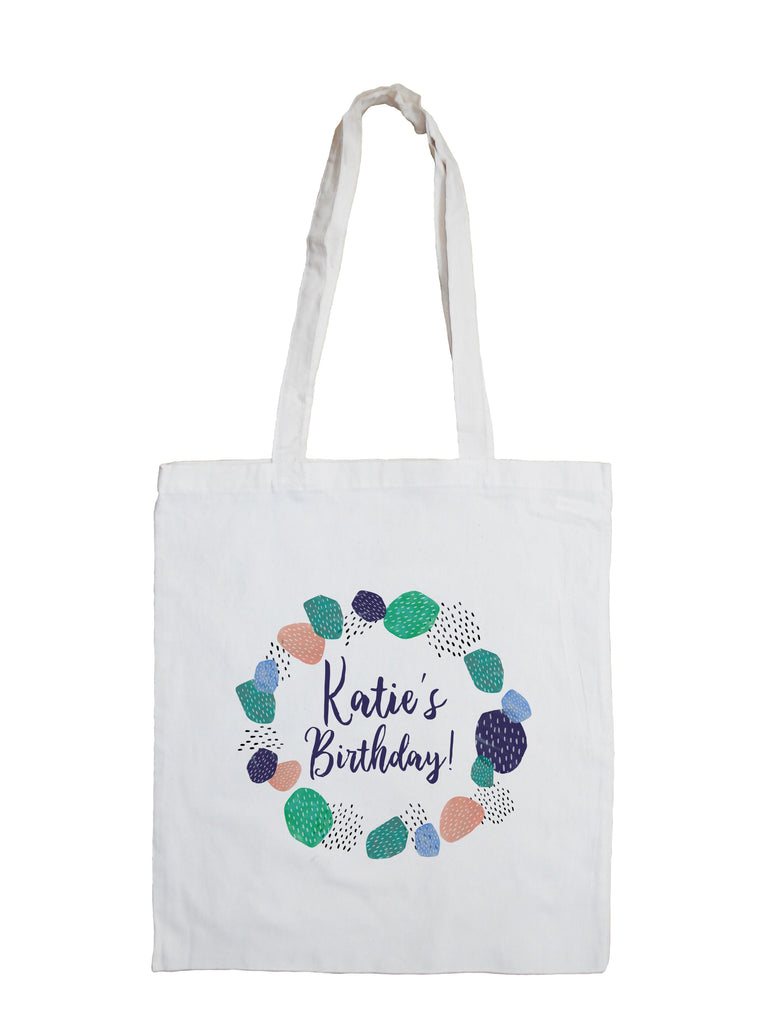 Abstract Cactus - Personalised Tote Bag
