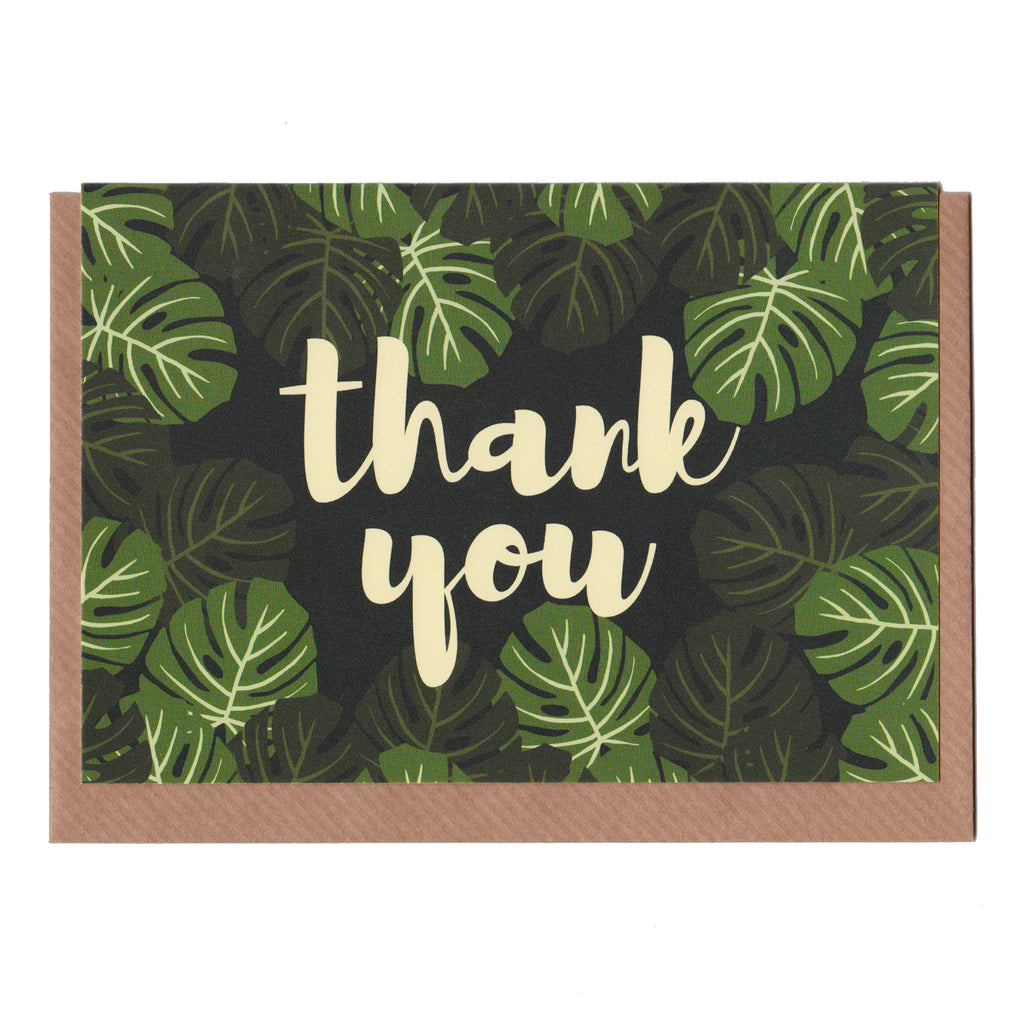 Thank You - Monstera