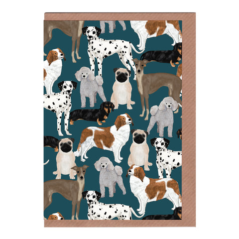 Dogs - Greetings Card