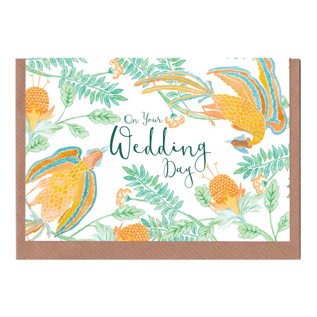 On Your Wedding Day (Emperor's Garden) - Greetings Card