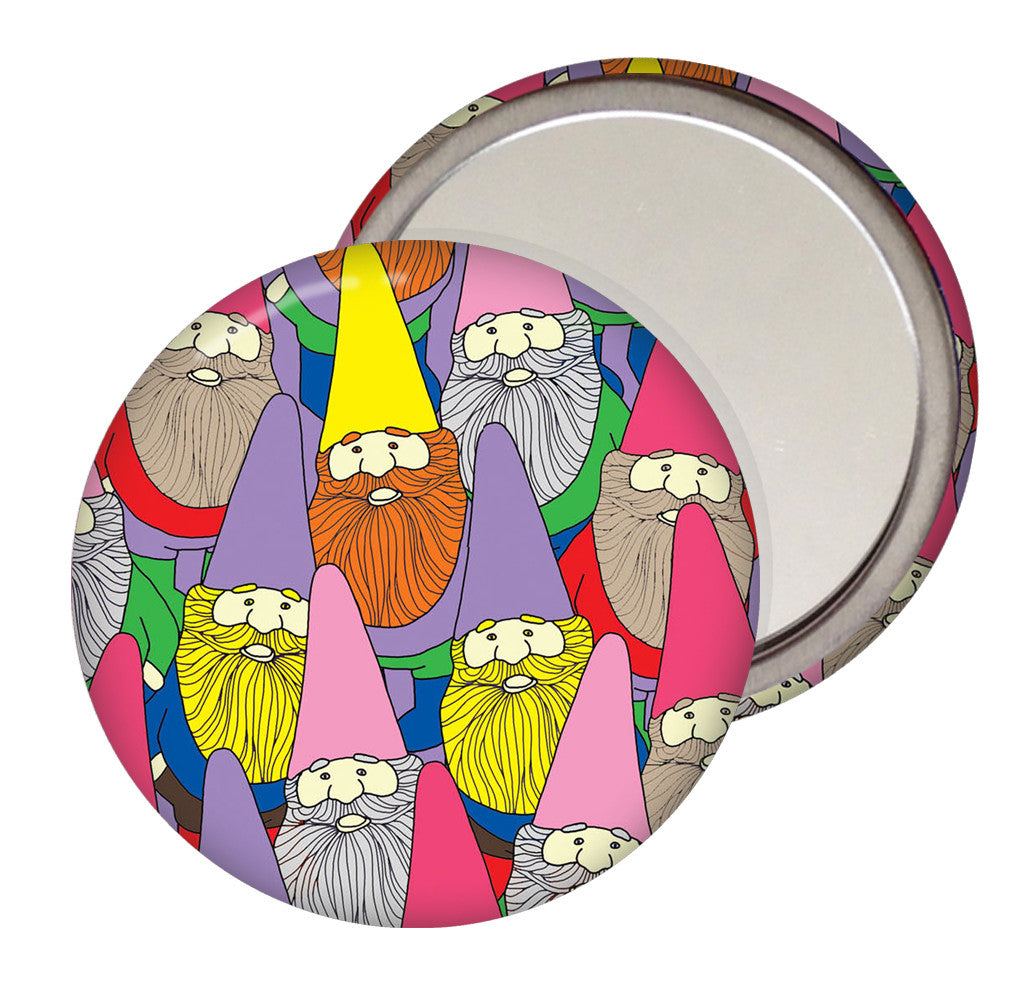 Mister Gnome Pocket Mirror