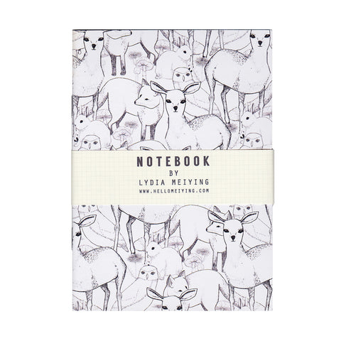 Woodland - Mini Notebook