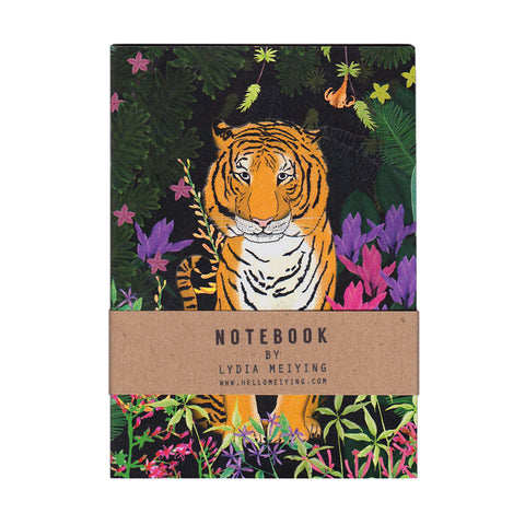 Jungle Tiger - Mini Notebook